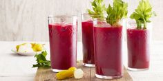Roasted beets add a distinctive earthy quality to the classic Bloody Mary.