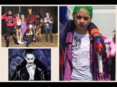 Easy Halloween Makeup  Suicide Squad Joker Transformation Comic Con Chicago 2016 - Video --> http://www.comics2film.com/easy-halloween-makeup-suicide-squad-joker-transformation-comic-con-chicago-2016/  #Comic-Con