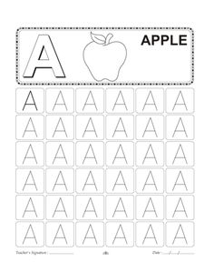 Capital Letter Writing Worksheets