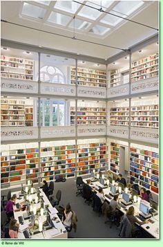 1e fase 'Universiteitsbibliotheek Binnenstad' (Utrecht) in beeld