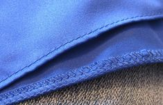 If you sew, here is a way to hem a basic Satin Bridesmaid Dress - Totally Stitchin