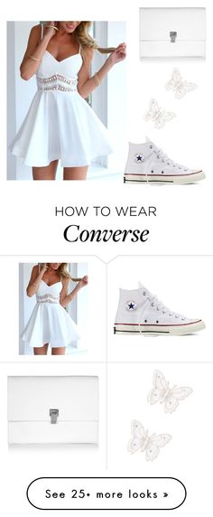 """Untitled #143"" by tiana25 on Polyvore featuring MARBELLA, Proenza Schouler and Converse"