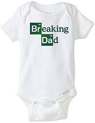 BREAKING DAD Pañalero 100% algodón