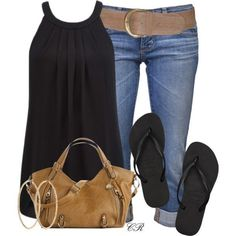 Fantastic easy, but classic summer outfit!