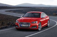 Audi officially unveils next-generation A5, S5coupe   Credit: Handout