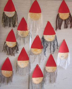 Vorschule Basteln Winter – Rebel Without Applause Childrens Christmas Crafts, Christmas Arts And Crafts, Felt Christmas, Simple Christmas, Diy Crafts For Kids, Holiday Crafts, Kid Friendly Art, Hobbies And Crafts, Textiles