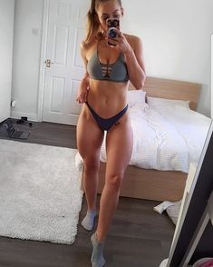 Fitness Girl Gifs Pic and Motivation Quotes that will inspired you every hour day and help to live healthy and fit life workout gym girl Body Inspiration, Fitness Inspiration, Grey Bikini, Ripped Girls, Lose Fat Fast, Gym Girls, Going To The Gym, Sport Girl, Physical Fitness