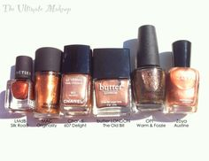 butter LONDON The Old Bill Heavy Medal Collection Olympics 2012 Dupes Comparisons - bronze