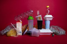 Last year, China drastically cut back its imports of plastic waste to recycle. and other wealthy nations must figure out what to do with their discards. Recycled Bottles, Plastic Bottles, Pollution Environment, Ap Environmental Science, Shampoo Bottles, Trash Art, Yogurt Cups, Plastic Sheets, Plastic Waste