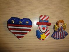 Fourth of July Pins