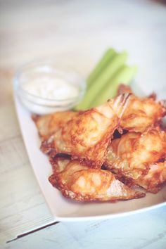 Buffalo Chicken Bites.  These were just as good as they look.  I paired with Blue Cheese Dressing.