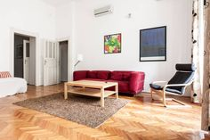 The apartment is in 19 Október 6 street, district 5, Budapest is between the Parliament and Grand Cathedral in the Inner City - the most elegant part ...