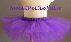 Purple Tutu Dark Purple Girl's Tutu Preemie by SweetPetiteTutu