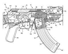Ak47 diagram gun diagrams and parts pinterest diagram guns patent us7261029 firearm bolt locking mechanism google patents ccuart Images