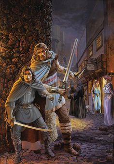 Fafhrd & the Gray Mouser (Keith Parkinson, 1985)