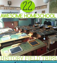 22 Awesome Homeschool History Field Trips. Bring history alive through interactive learning. It's one thing to read about the Holocaust in a book and quite another to bring history to life by visiting a museum and learning about the lives affected by this tragedy. History field trips have a way of not only making history fun, but places have a way of helping a child remember important dates, important people and events. Grab one or two of these ideas!! |Tina's Dynamic Homeschool Plus