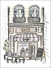 French Shop Front - Café