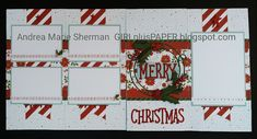 GIRLplusPAPER: Beary Christmas Flip Flap Layout