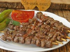 Recipe for a garbage shish kebab as you would in the Pfa .- Recipe for a garbage shish kebab, how to make it easy in the pan … Business …, - Yummy Recipes, Kebab Recipes, Vegan Recipes Easy, Beef Recipes, Shish Kebab, Kebab Skewers, Good Food, Yummy Food, Turkish Recipes