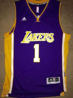 0e0a123087 D angelo Russell Los Angeles Lakers  1 Jersey Purple from  24.0