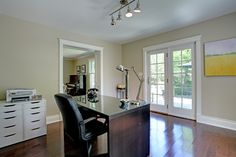 Facing the light always brightens up a dull work day. 1192 Morrison Heights Drive, Oakville