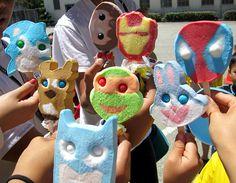 Summer Avengers Assemble! (Ice-cream! by crystalwhiiistle, via Flickr)