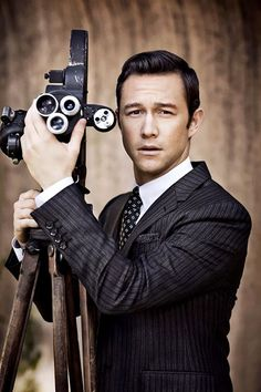 Joseph Gordon-Levitt. Bespoke. Men's Suit