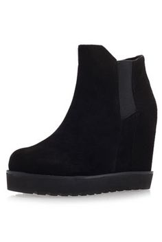 **Sonar Ankle Wedge Boots by Kurt Geiger