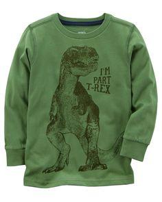 Kid Boy T-Rex Tee | Carters.com