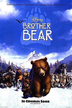51 Days of Disney (Day Brother Bear Disney Films, Disney Pixar, Walt Disney, Disney Movie Posters, Disney Day, Brother Bear, Film D'animation, Film Serie, Animation Film