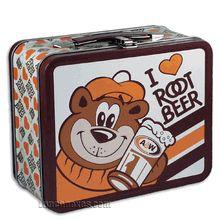 Vintage A&W lunchbox