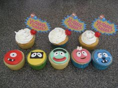 Like the simplicity of these toppers but the frosting is his favorite part so don't want to do away with it!