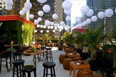 rooftop garden bar - Google Search