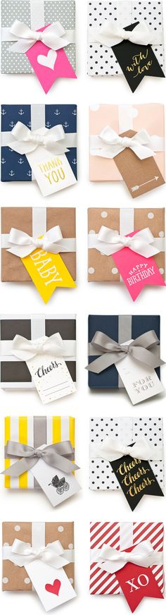 The Cutest Gift Tags | techlovedesign.com