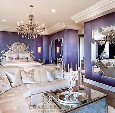 Glamorous Bedroom Design Ideas – Page 11 – Home Decor Ideas Home Bedroom, House Styles, Bedroom Design, House Design, Inspire Me Home Decor, Royal Bedroom, Glamorous Bedroom Design, Interior Design, Luxury Homes