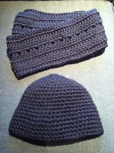 I did it!!  I finished a hat for my husband in time for a big snow  fall scheduled to arrive this weekend! After making a hat ...