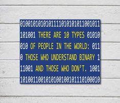 Arte digitale stampabile per nerd: Ci sono 10 tipi di persone nel mondo: Coloro che capiscono i binari e quelli che non lo fanno. STAMPABILI DI ACQUISTARE SOLO - 3, PAGHI 2! AGGIUNGERE 3 STAMPABILI ARTICOLI AL TUO CARRELLO E USO COUPON ON CHECKOUT - BUY2GET3ONPRINTABLES Digital Download immediato – non verrà inviato alcun elemento fisico * * * Questa opera darte stampabile è bello e a prezzi accessibili. Perfetto per parete Galleria ufficio o come un regalo per il geek nella tua vita :) ...