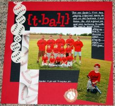 {t-ball} - Scrapbook.com