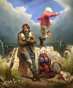 Creative Art by Miles Johnston...post apocalyptic