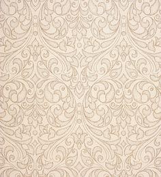Papel pintado damasco moderno perla metalizado fondo texturizado gris claro - 2010504