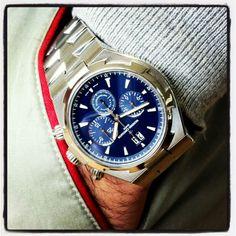 Vacheron Constantin Overseas Chronograph blue