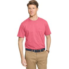 Men's IZOD Chatham Tee, Size: Medium, Pink Other