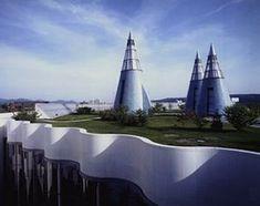 In Germania, potete ammirare la magnifica copertura verde dell'Art and Exhibition Hall.