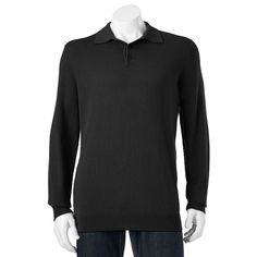 Big & Tall Croft & Barrow® Classic-Fit 12GG Solid Polo, Men's, Size: