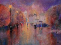 evening rain by Luckyten on DeviantArt