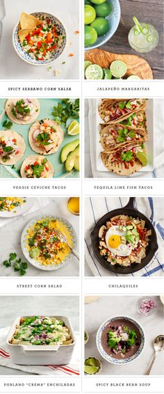 This collection of recipes makes a marvelous menu for a summer party.