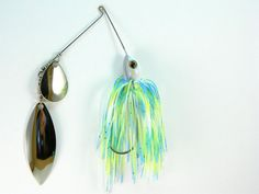 Handmade spinner baits by HUNYHOLE BAITS.  Bubble by HunyholeBaits, $6.00