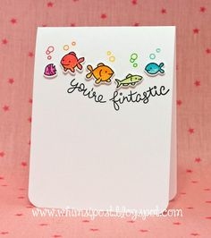 Fintastic Friends Card by Elise!