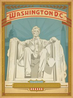 Vintage Travel Posters That Lured Tourists To Washington, D.C. - Curbed DC