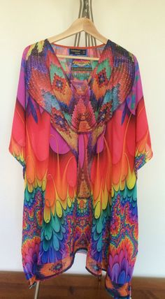 Devarshy DIGITAL PRINT SHORT KAFTAN